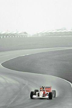 1993 Sega European Grand Prix - FIA Formula 1 World Championship (round - Donington Park - Marlboro McLaren - McLaren-Ford - Ayrton Senna (BR) - winner Mclaren Formula 1, Formula 1 Car, Grand Prix, Fiat Siena, F1 Wallpaper Hd, Iphone Wallpapers, Jochen Rindt, Gp F1, Mc Laren