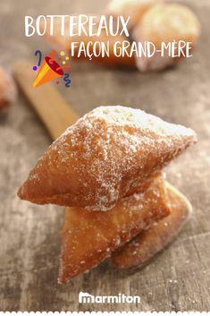 On adore cette recette de grand-mère pour faire nous-mêmes les traditionnels bottereaux de Mardi gras ! #recettemarmiton #marmiton #recette #recettefacile #recetterapide #faitmaison #ideesrecettes #inspiration #beignets #churros #carnaval #mardigras