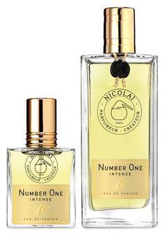 Number One Intense Eau de Parfum  by PARFUMS DE NICOLAI Egyptian jasmine, Indian tuberose, orange blossom absolute, cassis, rose, iris
