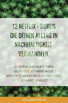 12 Netflix documentaries you need to see if you want to transform your everyday life into sustainability. Informations About 12 Netflix-Dokumentationen, die du gesehen haben musst Pin You can easily … Best Indie Movies, Good Movies, Netflix Documentaries, Netflix Movies, Funny Videos, Movies To Watch List, Movies Quotes, What Is Digital, Mackenzie Ziegler