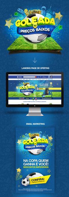 Campanha Goleada de Preços Baixos! Graphic Design Art, Design Show, Art Direction, Digital Art, 3d, Marketing, Game, Logos, Retail