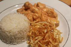 Brazilian Chicken Stroganoff