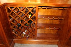 Mahogany Home Bar Pub Shop or Store Counter 10 Ft Long Hand Crafted - The Kings Bay Beveled Edge Mirror, Diy Home Bar, Store Counter, Home Bar Furniture, Raised Panel Doors, Back Bar, Storage Rack, Wine Rack, Coffee Shop