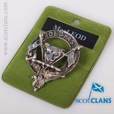 MacLeod Clan Crest Cap Badge. Free worldwide shipping available.