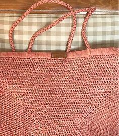 Crochet Market Bag, Crochet Tote, Lana, Louis Vuitton Damier, Straw Bag, Reusable Tote Bags, Handbags, Pattern, Create