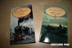 Homeschooling, Unschooling, The Railway Children, The Treasure Island, Klassiker, Childrens Classics