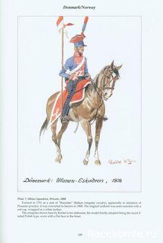 Danemark Uhlan Squadron Private 1808