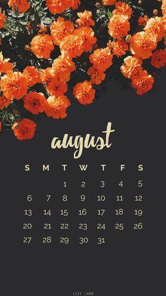 August Calender Wallpaper #iphone #wallpaper #iphonebackground #august #calender #screensaver #iphonewallpaper