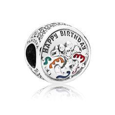 Mickey Mouse Happy Birthday Charm by PANDORA 4529c0a0859c