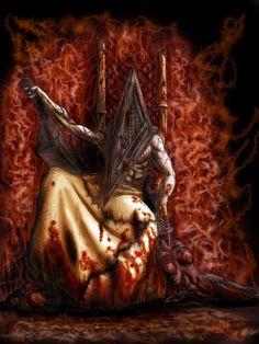 * Pyramid Head Throne ~  by ~Lucius-Ferguson *