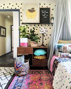 TWEEN DREAM: Colourful boho styling by the Hectic Eclectic boho tween room Girls Bedroom, Bedroom Decor, Tween Girl Bedroom Ideas, Entryway Decor, Leelah, Little Girl Rooms, New Room, Room Inspiration, Kids Room