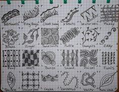 by Ellen Wolters. Tekenpraktijk Tekenpraktijk De Innerlijke Wereld: 24 new patterns pic posted!