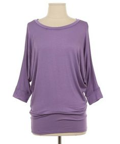 Check out this site for adorable and affordable spring fashion! Lilac Dolman Tunic