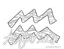 Zodiac Coloring Pages Colouring Pages Pinterest Zodiac