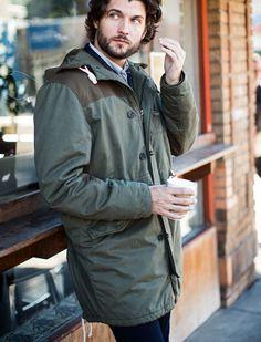Czas wyjąć kurtkę z szafy. Lub kupić nową :) Denim Outfit, Latest Trends, Raincoat, Jackets, Clothes, Tops, Design, Women, Style