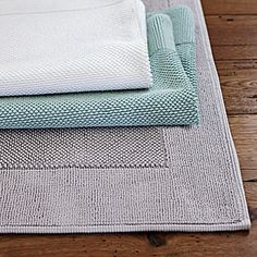 Cotton Bath Mat #Homes #HomeDecorators #BathroomIdeas