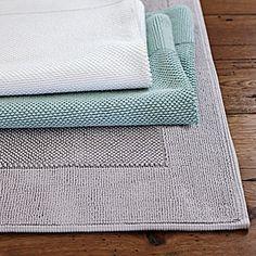 Cotton Bath Mat #Homes #HomeDecorators #BathroomIdeas