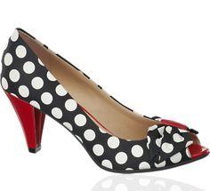 Zapato de tacón Peep Toe Graceland