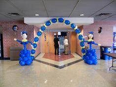 Resultado de imagen para decoracion graduacion de primaria con globos