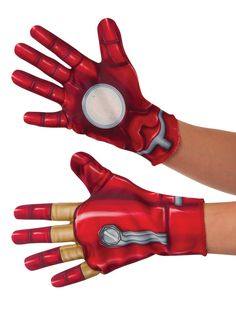 Check out Marvel's Captain America: Civil War - Boys Iron Man Gloves | Costumes…