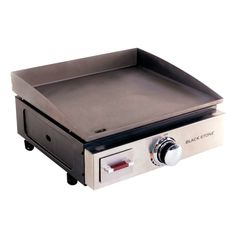 """BlackStone 1650 Table Top LP Grill Griddle, 10000 BTU, 17"""", Black - Free Shipping Today - Overstock - 21690573 Propane Griddle, Griddle Grill, Propane Gas Grill, Plancha Grill, Table Top Grill, Best Gas Grills, Blackstone Griddle, Griddles, Cool Kitchens"""