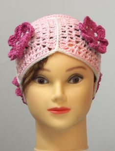 pink hat for girl, elegant head warmer, with crocheted flowers aruond the head, crocheted, very stylish! head circumference - 44-48cm (17.3' - 19') 100% acrylic, wash in 30 degrees, dry flat Crocheted Flowers, Handmade Market, Pink Hat, Crochet Baby Hats, 30 Degrees, Decoration, Babyshower, Baby Shower Gifts, Promotion