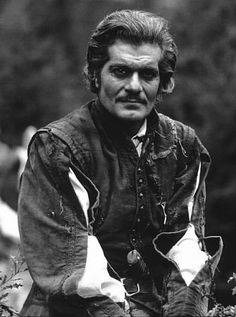 Omar Sharif. Ever seen him without his mustache? Ho-hum. But with it he was hawt.