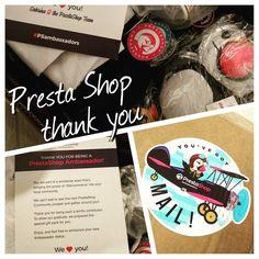 @prestashop siete fantastici grazie!! #DigitalLifeCoach #wecommerce #prestashop #ecommerce #psambassadors #kit