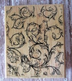 "Stampin' Up!, ""Antique Background"" by CherylsStampStuff on Etsy"
