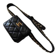 eaa9e1bdd2dc Love this Chanel fanny pack that  KatWalkSF is rockin  in Paris ...