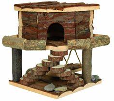 Trixie Natural Living Ida House, 19 x 20 x 19 cm: Amazon.co.uk: Pet Supplies