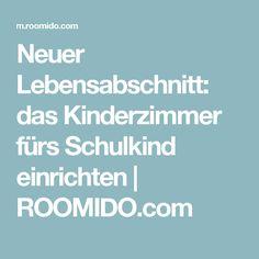 Neuer Lebensabschnitt: das Kinderzimmer fürs Schulkind einrichten   ROOMIDO.com