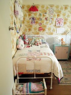 Vintage girly bedroom