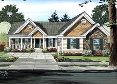 Ranch House Plan 98623