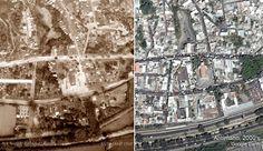 Antímano (vista aérea, 1938-2000's) New York Skyline, City Photo, Retro, Travel, Caracas, Red Roof, Cities, Souvenirs, Viajes