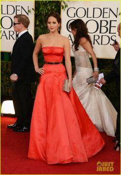 """""""Jennifer Lawrence Golden Globes 2013"""""""