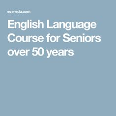 The programme in ESE Malta is an English Course for Seniors (students over 50 years old) who wish to learn useful phrases and functional language for travel and everyday situations. English Language Course, English Course, Senior Student, Over 50, Learning, Travel, Program Management, Studying, Teaching