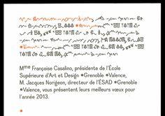 Coline Sunier & Charles Mazé - identité de l'ESAD Grenoble-Valence