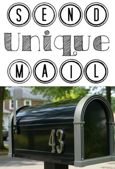 Here is an AMAZINGLY idea for sending unique mail to family and friends. You've gotta try it!