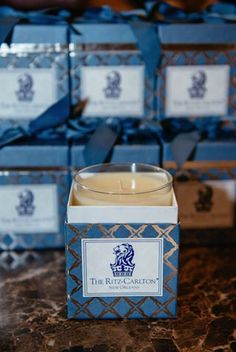 Light this custom Gardenia scented candle by Niven Morgan and allow your senses to transport you to an outdoor courtyard in the heart of the French Quarter at The Ritz-Carlton, New Orleans.