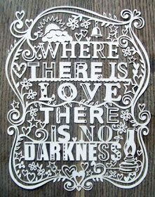 Inspirational Picture Quotes...: Where there is love.
