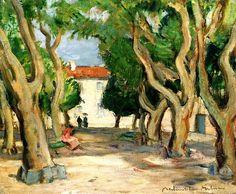 bofransson:  John Maclauchlan Milne, Trees