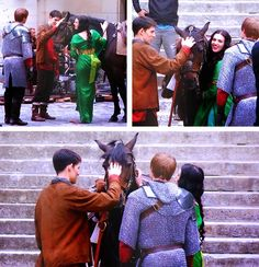 Merlin and the horse :)