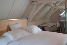 Chateau Bethlehem Attic Bedroom   Remodelista