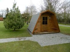 Dunster House camping Cocoon's at Greenway Touring Park