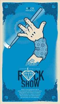 Rock Show 2012 by Cale Cathey, via Behance