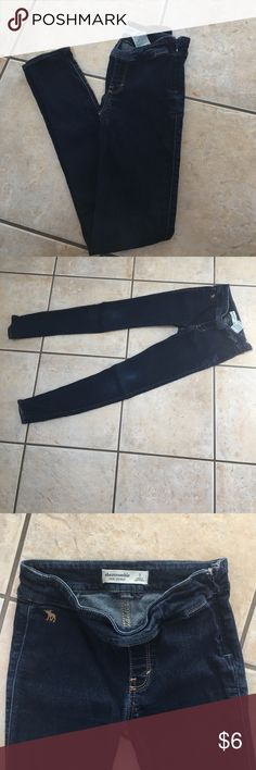 Abercrombie skinny jeans Very cute kids jeans size S abercrombie kids Bottoms Jeans