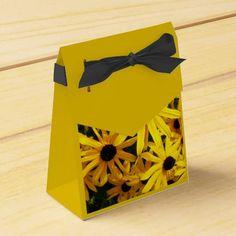Black Eyed Susans Party Favor Boxes #flowers #partyideas #showerideas