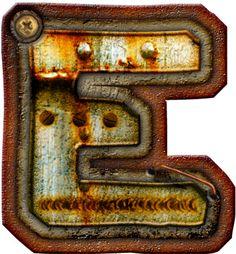 CH.B *✿* Alfabeto metal oxido..E