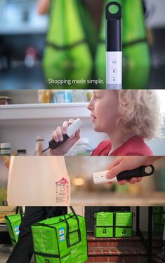 #AmazonDash #Gadget Goes Grocery Shopping For You Speak Or Scan Your List #AmazonFresh Delivers